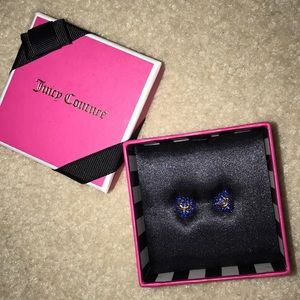 Juicy couture heart earrings - never worn